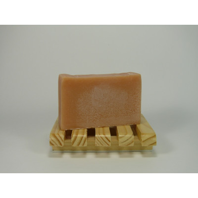 Savon lait de chèvre Orange