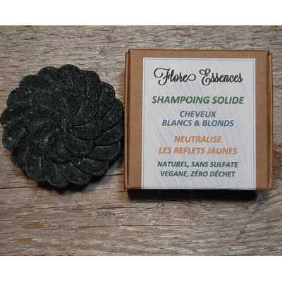 Shampoing solide 55gr CHEVEUX BLANCS secs - cuir chevelu sensible